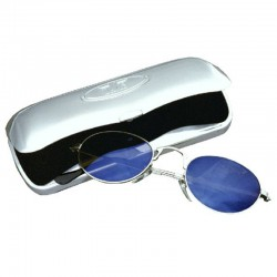Davis brillenkoker alu